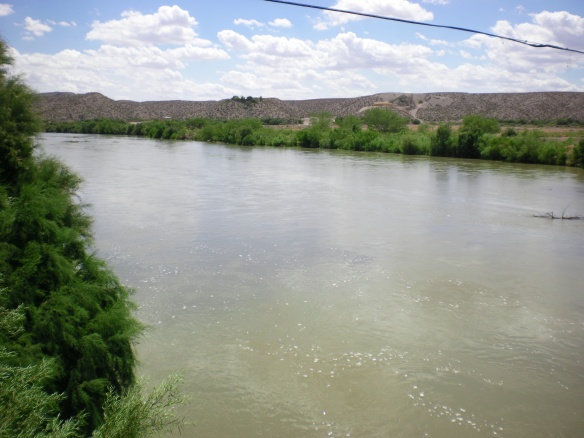 Rio Grande, I am almost to Texas