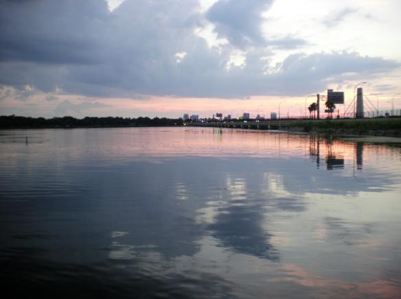 Last American Sunset, lake Underhill, Orlando, FL