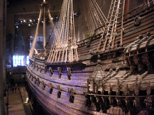 The legendary Vasa, Stockholm Sweden
