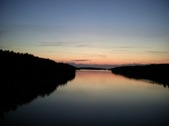 Last sunset on the Archipelago