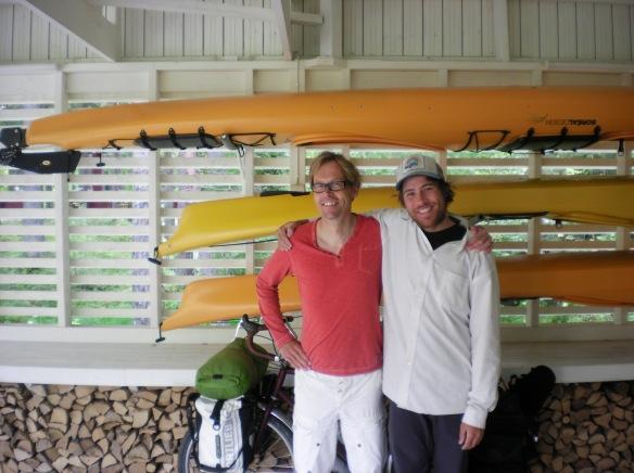 Kaj's legendary 3 kayaks!