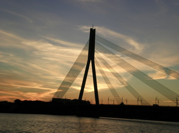 Riga sunset