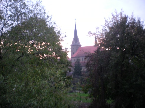 Church, view from my room