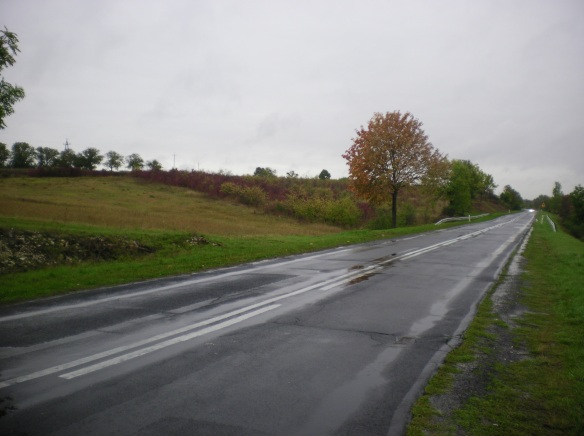 A rainy Polish countryside
