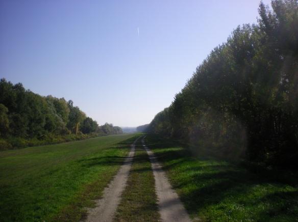 Euro-Rail 6, country road to Romania