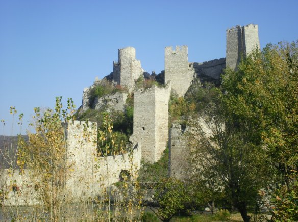 Ancient Serbian castle