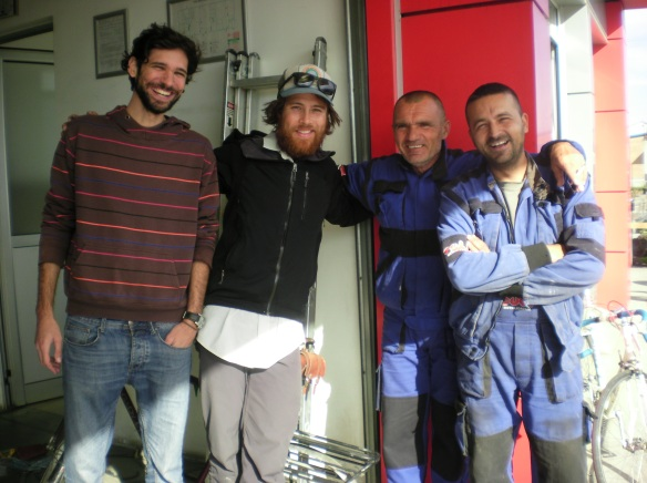 Nikola and the welders