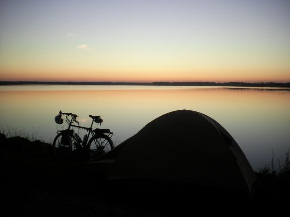 Camping near Kutina lake
