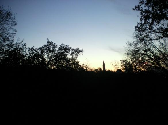 Silhouette of Omisalj