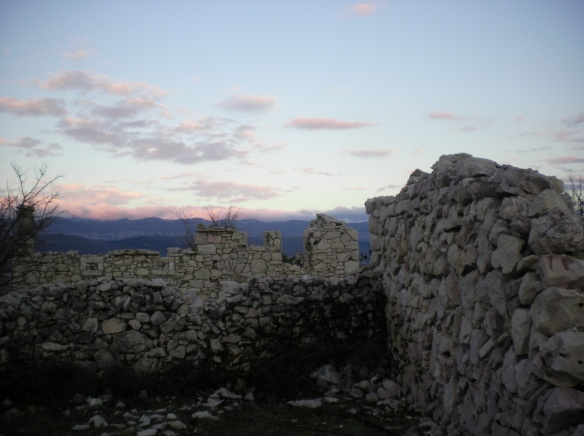 Old ruins, waiting to be excavated