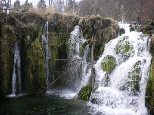 Big waterfall, Plitvice