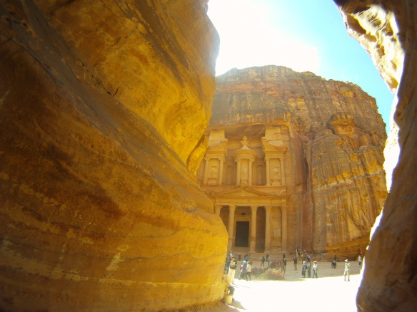 Treasury temple, Petra