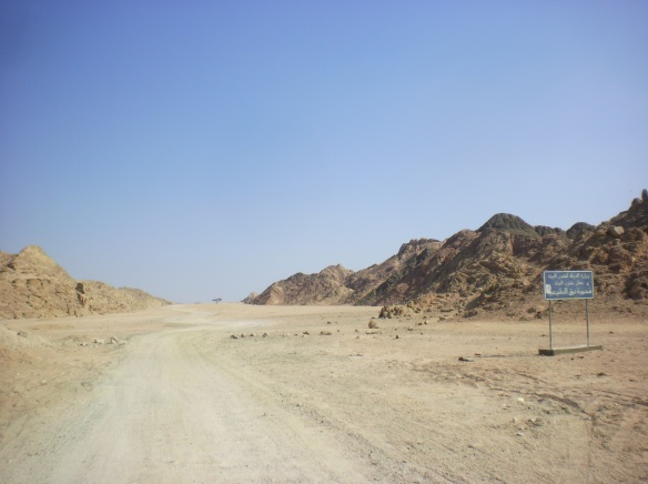 Extreme conditions of the inner Sinai