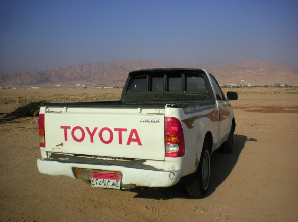 Classic Bedouin desert vehicle