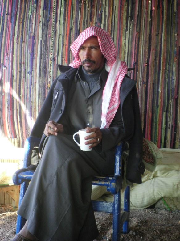 Bedouin elder Joma