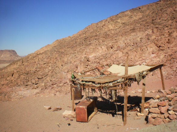 Roadside Bedouin hut