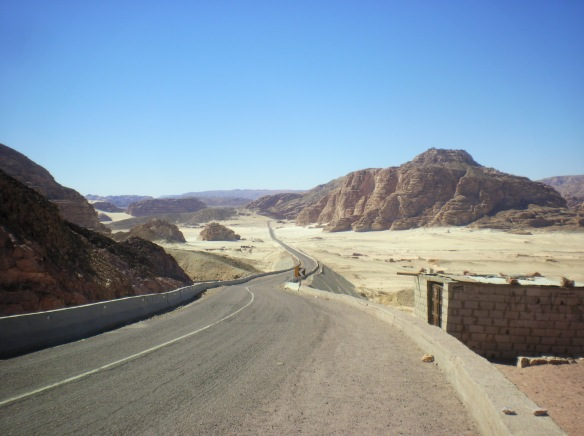 Desert roads to St. Catherine