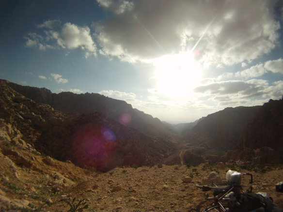 I sat at the top of the trail for close to an hour, where I finally decided to pedal into the valley.