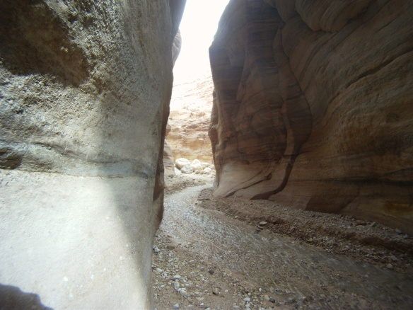Wadi Numera, canyon leads to the Dead Sea