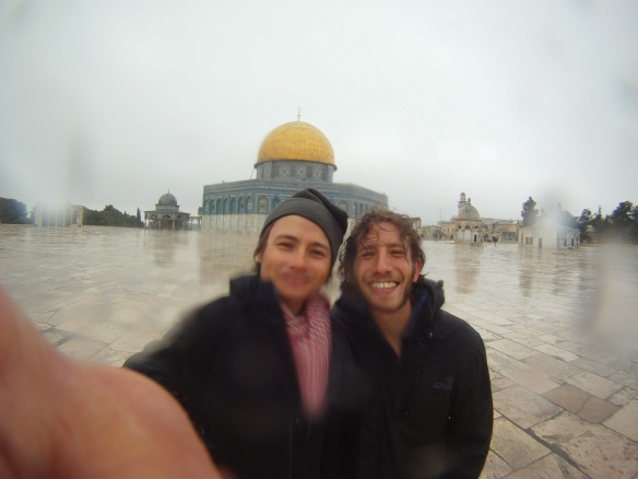 By far the best thing in Jerusalem, Temple Mount hanging with my homie Ariel