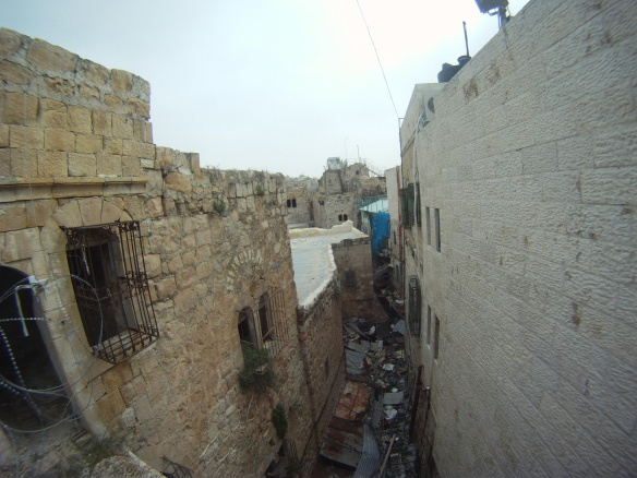 Border between the Muslims and Jews, Hebron