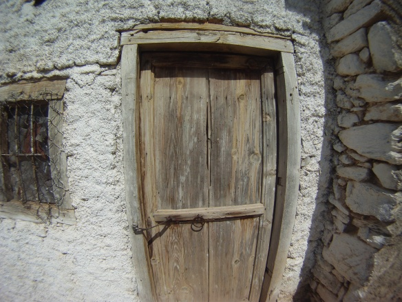 Door to my stone house abode