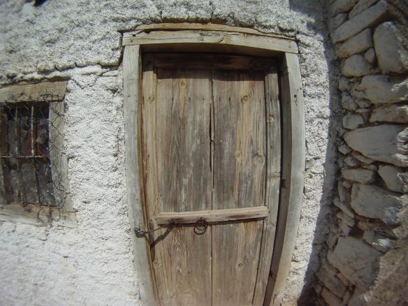 Door to my stone house abode