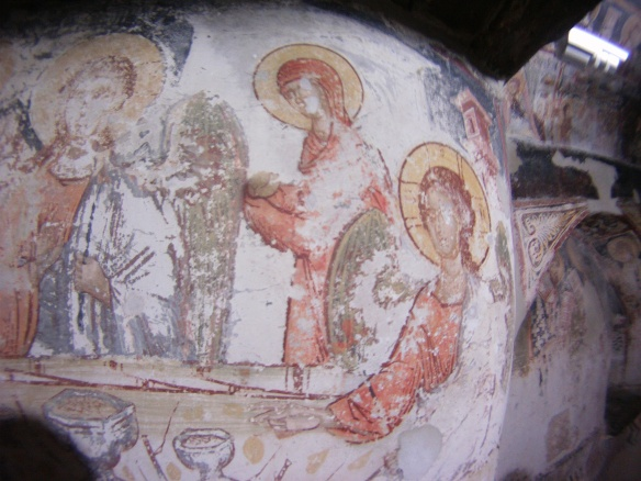 Frescoes from the 3rd century AD