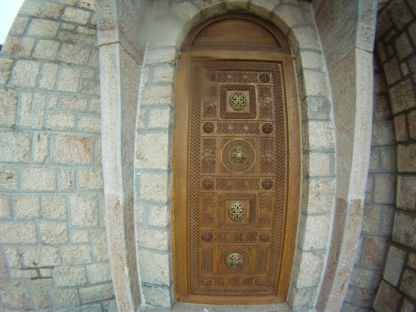Wooden Orthodox door