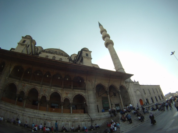 "The ""New"" Mosque built in 1576 Istanbul"