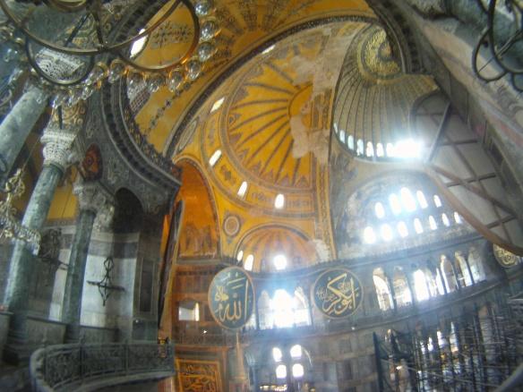 Inside Aya Sophia Camii