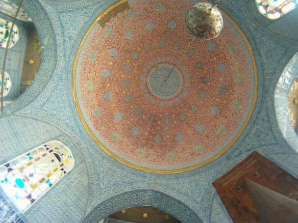 Ceiling inside Ortakoy Mosque