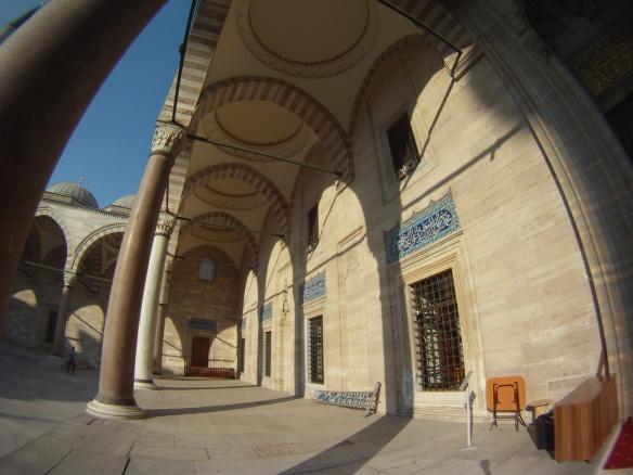 Standard Ottoman Mosque Courtyard