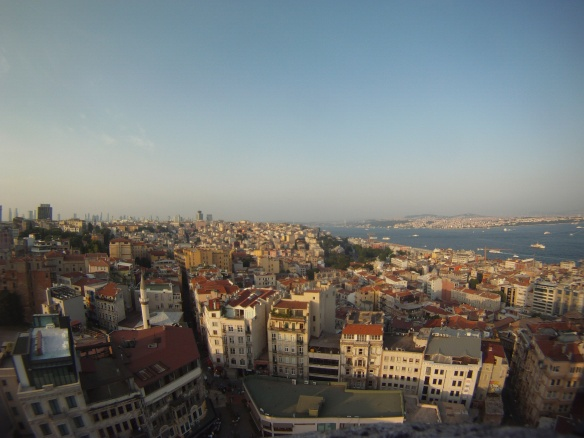 Roof top view of Karikoy (north western Istanbul)