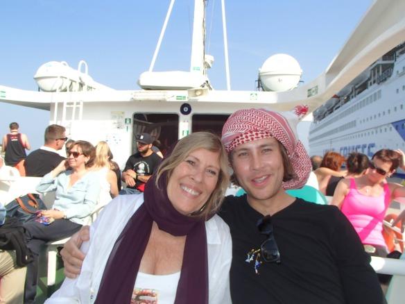 2 hour ferry trip to the Greek island of Samos