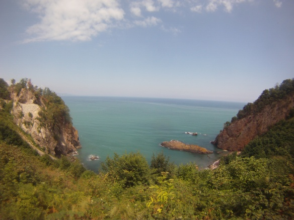 Tropical peninsula between Fatsa and Ordu