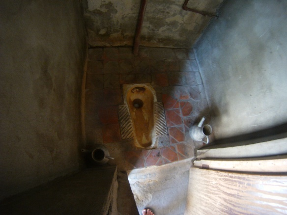 The cleanest toilet in Kazakhstan