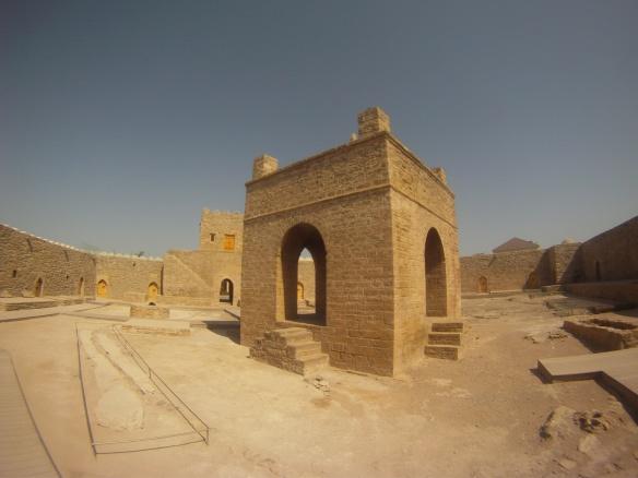 Ateshgah, Zoroastrian fire temple, Baku outskirts