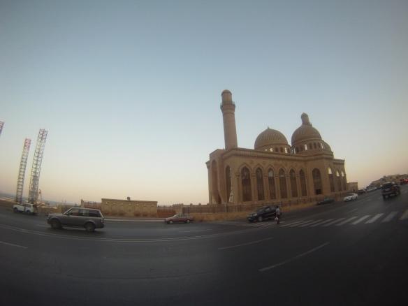 Caucasus style mosque
