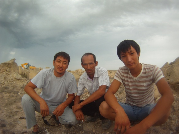 Local Kazakhs these guys do not speak Chinese