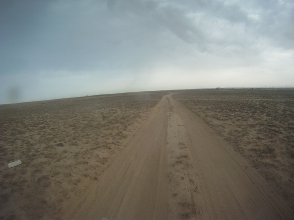 A long desert road