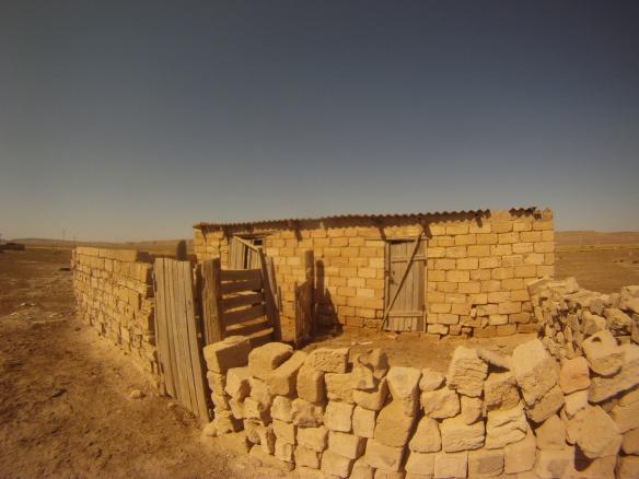 House in remote desert village