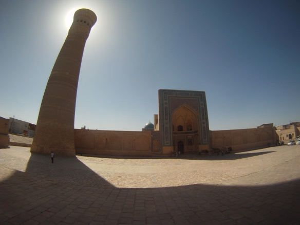 More of the famous Minaret in Bukhara