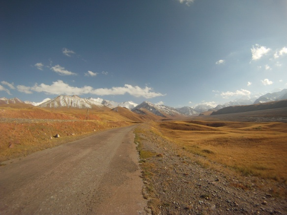 First glance of the Pamirs
