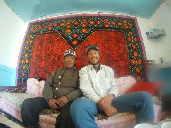 Kyrgyzstani local who invited me for lunch near Jalal-Abad