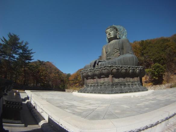 Large Buddha statue Seoraksan