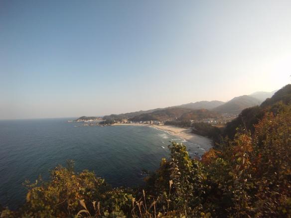 Koreas coastline