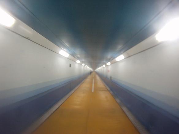 Kanmon Tunnel connecting Kyushu to Honshu