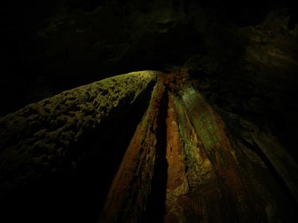 Lime stone ore in Akiyoshido cave