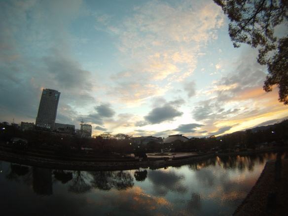 Sunset in Hiroshima